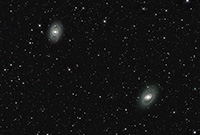 M95 and M96 Galaxies